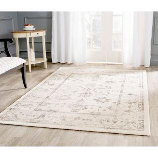 Safavieh Porcello Ivory/ Light Grey Rug (67 Square)   17384594