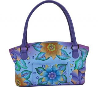 Womens ANNA by Anuschka Tote Bag 7015   Tropical Safari