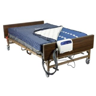 Drive Medical Med Aire Bariatric Heavy Duty Low Air Loss Mattress Replacement System 54 x 80 x 10 Inches
