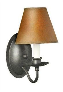 World Imports WI843742 Rust Uptown 1 Light Wall Sconce