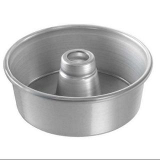 CHICAGO METALLIC 46500 Angel Food/Tube Cake Pan, Plain, 7 1/2