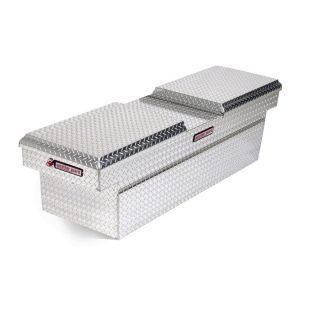 WEATHER GUARD 72 in x 20.5 in x 18.375 in Silver Aluminum Full Size Truck Tool Box