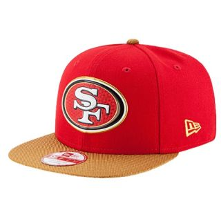 New Era NFL 9Fifty Gold Collection Cap   Mens   Accessories   San Francisco 49ers   Multi