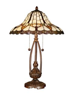Dale Tiffany TT101374 Antique Brass