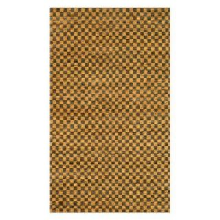 Noble House Coster Area Rug   Gold/Coffee