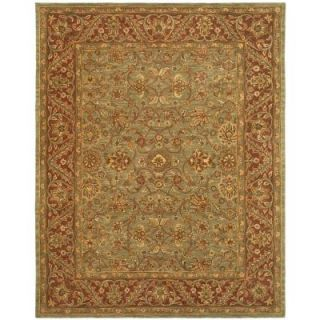 Safavieh Golden Jaipur Green/Rust 8 ft. 3 in. x 11 ft. Area Rug GJ250A 9