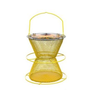 No/No Designer Sunflower 2 Tier Bird Feeder with Perch Ring DSHG00387