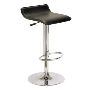 Winsome 93129 Spectrum Airlift Swivel Stool in Black