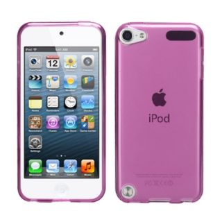 Insten Pink Clear Jelly TPU Rubber Candy Skin Matte Case Cover For