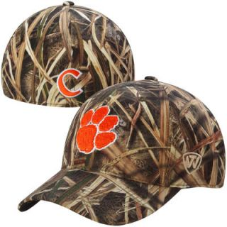 Clemson Tigers Top of the World Blades Memory Fit Flex Hat – Camo