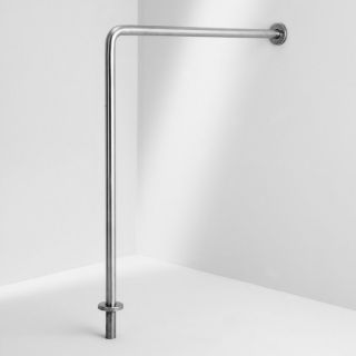 Ponte Giulio USA Glazed Stainless Steel Wall Mount Grab Bar