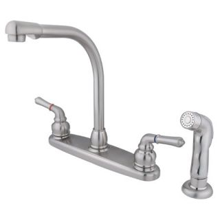 Kingston Brass KB758SP Satin Nickel Kb75 sp Kitchen Faucet