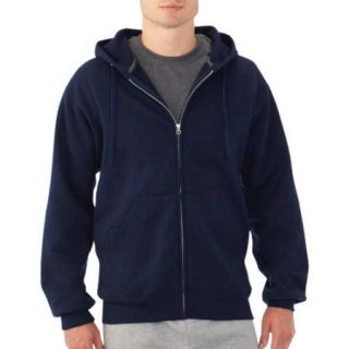 Fruit of the Loom Big Men's Fleece Full Zip Hood
