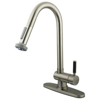 Kingston Brass GS8888DKL Satin Nickel Gs888 dkl Kitchen Faucet   Build