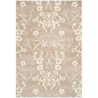 Safavieh Florida Shag Light Beige Area Rug