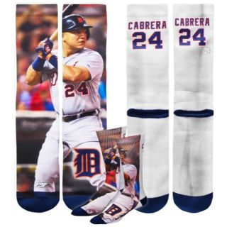 For Bare Feet MLB Sublimated Player Socks   Mens   Accessories   Miguel Cabrera   Multi