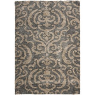 Safavieh Florida Shag Light Gray/Beige Area Rug