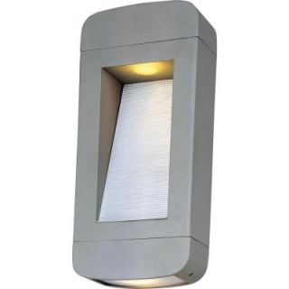 Filament Design Infinite Wall Mount 2 Light Outdoor Platinum Halogen Sconce HD MA43181849