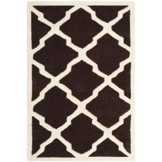 Safavieh Chatham Dark Brown / Ivory Rug