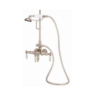 Elizabethan Classics Wall Mount Diverter Tub and Shower Faucet with