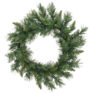 "Vickerman 18"" Imperial Pine Artificial Christmas Wreath, Unlit"