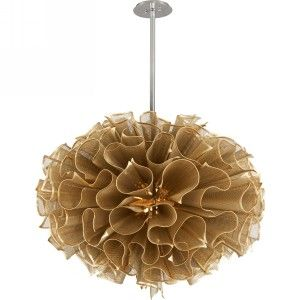 Corbett Lighting COR 218 72 Pulse Gold Leaf  Pendants Lighting