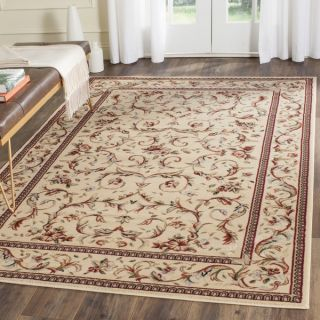 Safavieh Lyndhurst Collection Traditional Ivory/ Ivory Rug (4 x 6
