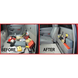 DU-HA Truck Storage System - Chevrolet/GMC 1500 Light Duty Crew Cab (Classic), Fits 2004-2007 Models, Dark Gray, Model# 10023  Interior Storage