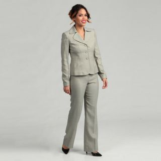 Anne Klein Womens Three button Pant Suit   14032495