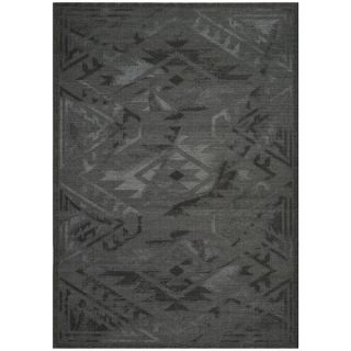 Safavieh Palazzo Black/Gray Over Dyed Chenille Area Rug (5 x 8)