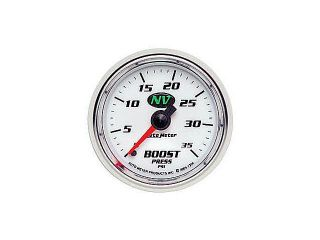Auto Meter NV Mechanical Boost Gauge