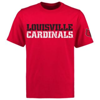 Louisville Cardinals Liberty T Shirt   Red