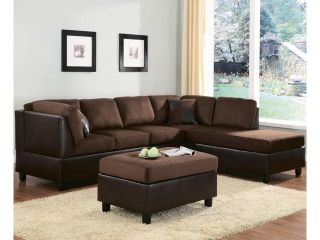 Homelegance Comfort Living 2 Piece Two Tone Living Room Set