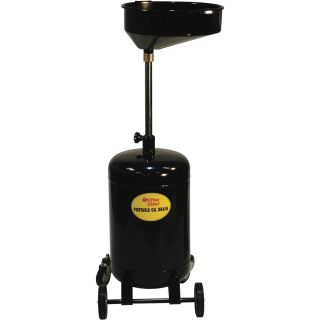 JohnDow Portable Oil Drain — 16 Gallons, Model# JDI-16DC-E