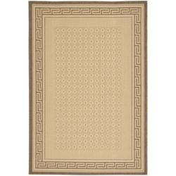 Safavieh Indoor/ Outdoor Natural/ Brown Rug (53 x 77)   13111068