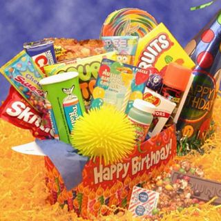 Deluxe Happy Birthday Care Package   Gift Baskets by Occasion