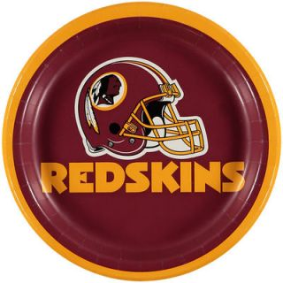 Washington Redskins 8 Pack Lunch Plate Set