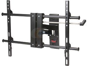 "Rosewill RHTB 13007   32""   60"" LCD / LED TV Articulating Wall Mount   Lockable Tilt & Swivel, Supports Up to 100 lbs., Black, compatible with Samsung, Vizio, Sony, Panasonic, LG and Toshiba TV"