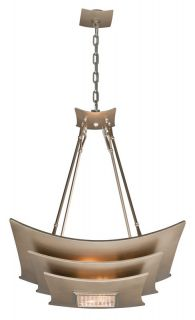 Corbett Lighting 155 44 Tranquility Silver Leaf Pendant Light   Build