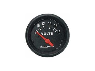 Auto Meter Z Series Electric Voltmeter Gauge