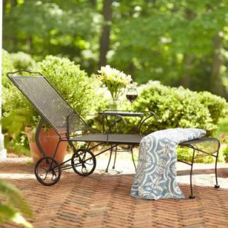 Hampton Bay Jackson Patio Chaise Lounge 7891500 0105157