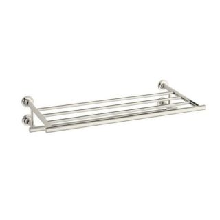 Kohler Purist Polished Nickel Hotelier Towel Bar   15359597