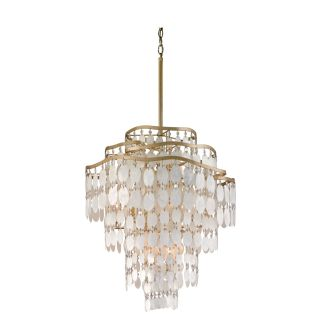 Corbett Lighting 109 412 Dolce 12 Light Hanging Pendant in Champagne Leaf