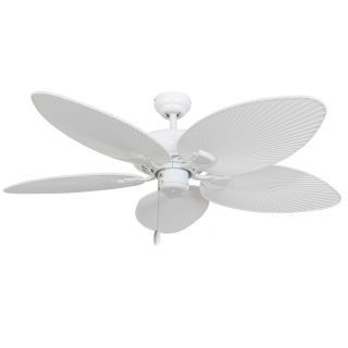 Calcutta 52 Coral Island 5 Blade Indoor Ceiling Fan with Remote