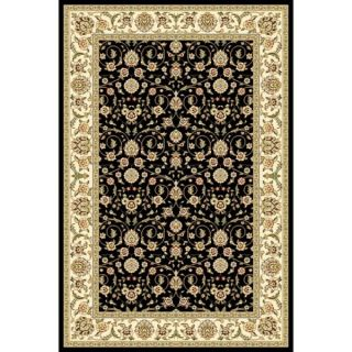 Safavieh Lyndhurst Collection Traditional Black/ Ivory Runner Rug (4