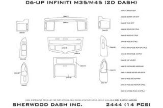 2010 Infiniti M35 Wood Dash Kits   Sherwood Innovations 2444 R   Sherwood Innovations Dash Kits