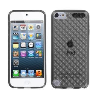 Insten Smoke Clear Argyle TPU Rubber Candy Skin Glossy Case Cover For