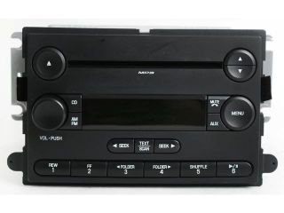 2007 Ford Focus Radio AM FM  CD Player   Part Number 7S4T 18C869 AB