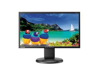 "ViewSonic VG2028WM Black 20"" 5ms Swivel & Height Adjustable Widescreen LCD Monitor 250 cd/m2 1000:1 Built in Speakers"
