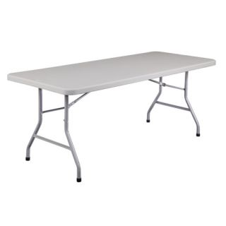 Blow Molded 72 Rectangular Folding Table